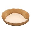 Ortho Sleeper Bolster Bed in Caramel