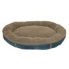 <strong>Faux Suede Round Comfy Cup Donut Dog Bed</strong> by Zoey Tails