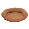 Memory Foam Bolster Dog Bed with Protector Pad