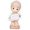 <strong>Precious Moments</strong> Love You Grandma Boy Figurine
