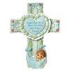Precious Moments Precious Little Blessings Baby Boy Cross Figurine