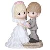 """<strong>Precious Moments</strong> """"Two Lives One Love"""" Wedding Figurine"""