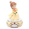 <strong>Precious Moments</strong> Girl Dressed As Belle Musical Figurine