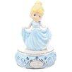 Precious Moments Girl Dressed As Cinderella Musical Figurine