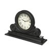 <strong>IMAX</strong> Wood Mantle Clock in Black