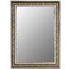 Hitchcock Butterfield Company Venetian Washed Silver Framed Wall Mirror