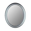 Premier Series Oval Mirror in Pewter