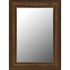Hitchcock Butterfield Company Regal Copper & Gold Accents Framed Wall Mirror