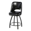 "<strong>Steel 24"" Swivel Bar Stool</strong> by Regal"