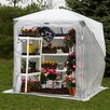 Flowerhouse Orchidhouse 9' x 9' Polyethylene Greenhouse