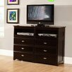 Discovery World Furniture 6 Drawer Media Chest