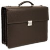 <strong>Jack Georges</strong> Prestige Triple Leather Laptop Briefcase