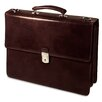 <strong>Jack Georges</strong> Sienna Double Gusset Leather Briefcase