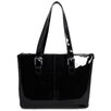 Jack Georges Patent Leather Madison Avenue Laptop Tote Bag