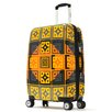 "Olympia New Age Art Series 25"" Hardsided Carry-On Spinner Suitcase"