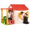 ECR4kids Active Play Lake Cottage Children's Playhouse