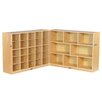 ECR4kids Fold and Lock 25 Tray Storage Cabinet