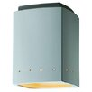<strong>Justice Design Group</strong> Radiance 1 Light Outdoor Flush Mount