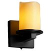<strong>Justice Design Group</strong> CandleAria Dakota 1 Light Wall Sconce