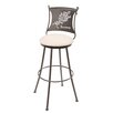 "Stone County Ironworks Rosemary 25"" Swivel Bar Stool"