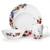 <strong>Mikasa</strong> Gourmet Basics Flower Garden 16 Piece Dinnerware Set