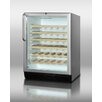 <strong>Summit Appliance</strong> 40 Bottle Single Zone Built-In Wine Refrigerator