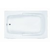 "Reliance Whirlpools Reliance 60"" x 36"" Integral Skirted Whirlpool Tub with End Drain"
