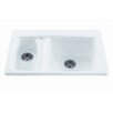 "<strong>Reliance Whirlpools</strong> Reliance 33"" x 22.25"" Advantage Double Bowl Kitchen Sink"