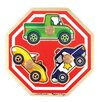 Melissa and Doug Stop Sign Jumbo Wooden Knob Puzzle