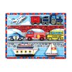 Melissa and Doug Vehicles Chunky Wooden Puzzle