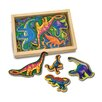 Melissa and Doug 20-Piece Magnetic Dinosaurs Set