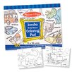 Melissa and Doug Jumbo Coloring Pad in Blue