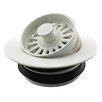 Westbrass Universal Disposer Flange Cover with Strainer