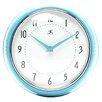 Retro Wall Clock in Turquoise
