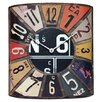 <strong>Infinity Instruments</strong> Peddler License Plate Wall Clock