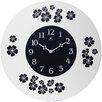 "Infinity Instruments 22"" Blossom Wall Clock"