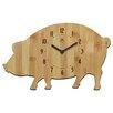 Infinity Instruments Chef Pork Chop Wall Clock