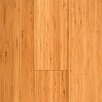 "Prefinished Vertical 3-3/4"" Solid Bamboo Flooring in Carbonized Matte"