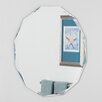 Decor Wonderland Frameless Diamond Wall Mirror