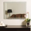 Decor Wonderland Frameless Liana Wall Mirror