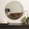 <strong>Decor Wonderland</strong> Fortune Modern Frameless Beveled Wall Mirror