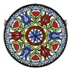 Meyda Tiffany Tiffany Hex Medallion Stained Glass Window