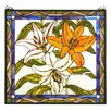 <strong>Tiffany Tigerlily Stained Glass Window</strong> by Meyda Tiffany