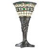 "Meyda Tiffany Tiffany Roman 14"" H Mini Table Lamp with Bowl Shade"