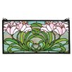 Meyda Tiffany Tiffany Calla Lily Stained Glass Window