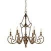 <strong>Designers Fountain</strong> Isla 6 Light Chandelier
