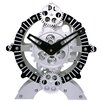"9"" x 10"" Moving Gear Desktop Clock"