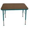 "Mahar 48"" x 30"" Rectangular Classroom Table"