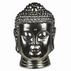 <strong>Ceramic Buddha Head Bust</strong> by Privilege