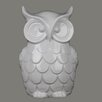 Privilege Ceramic White Owl Figurine